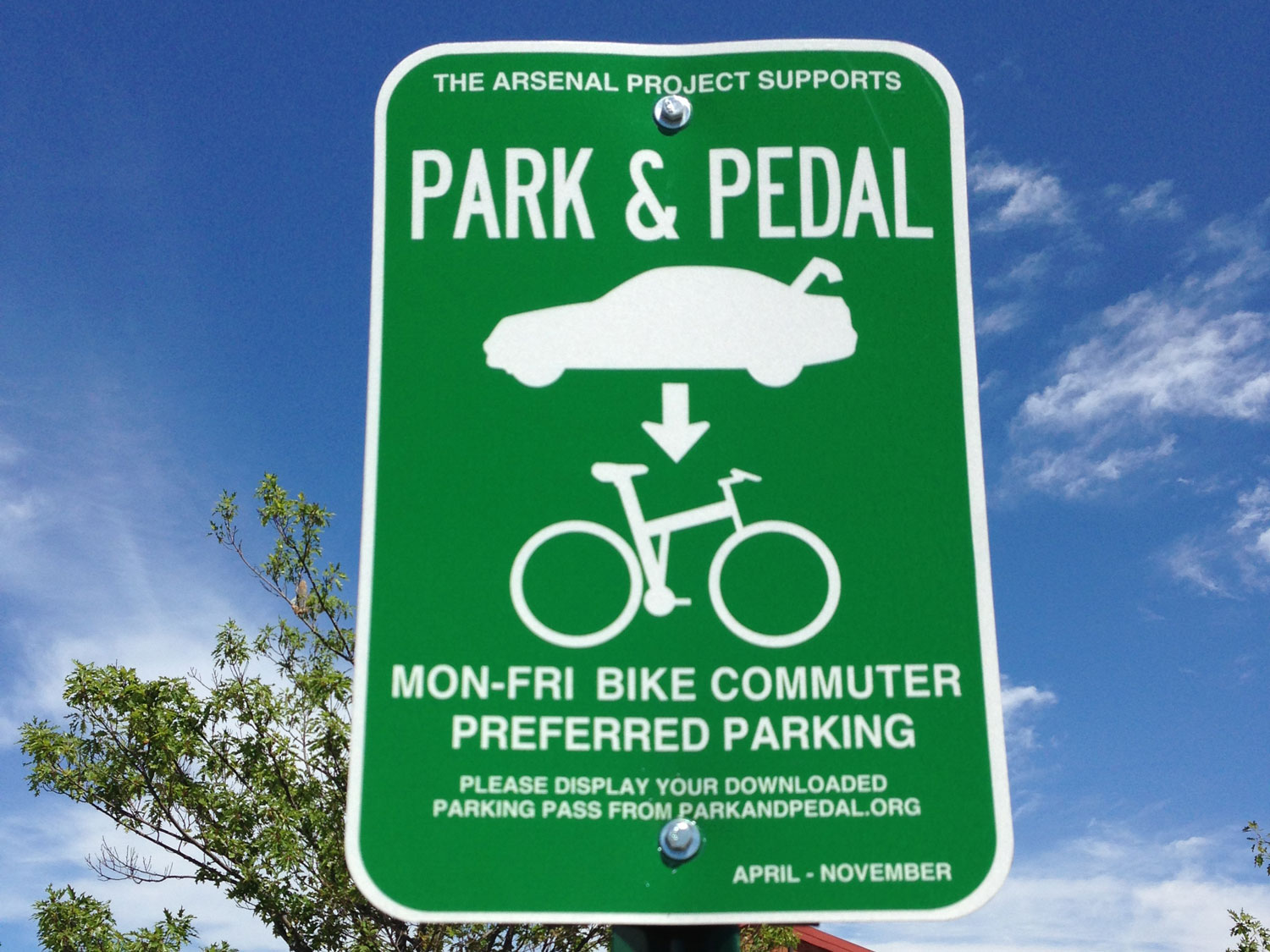 Park&Pedal at Arsenal Mall