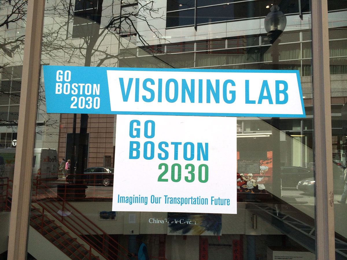 Go Boston 2030 Visioning Lab