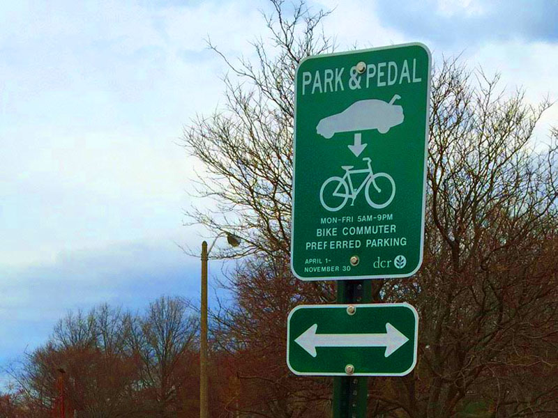 Park&Pedal in Winter