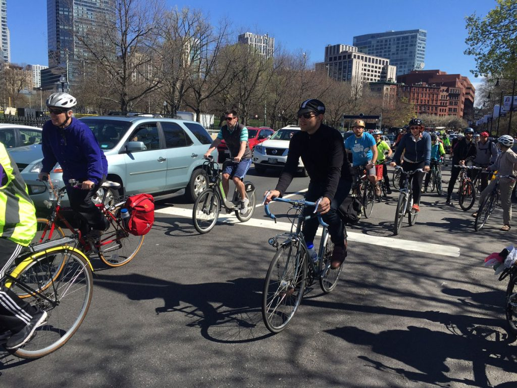 A Ride for Better Bike Lanes in Boston