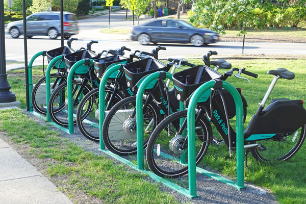 Alpha Release: E-Bikes Rentals at Select Park & Pedal Locations